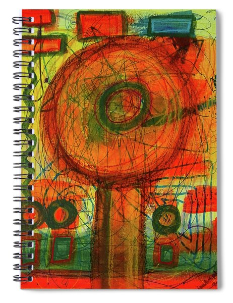 Ode To Autumn Spiral Notebook
