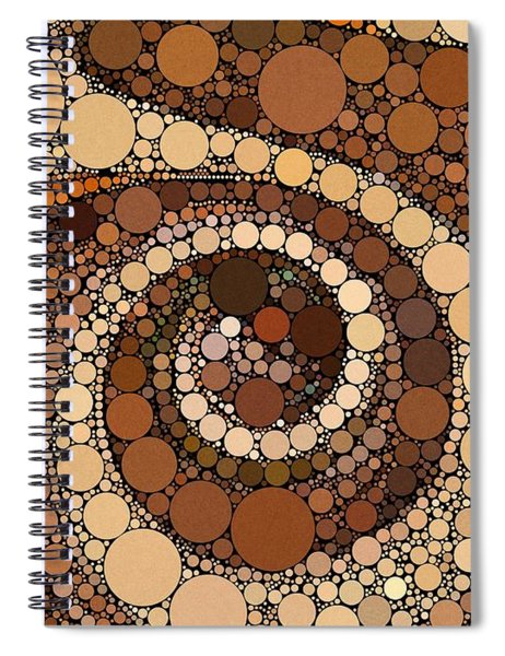 Ode To China Spiral Notebook