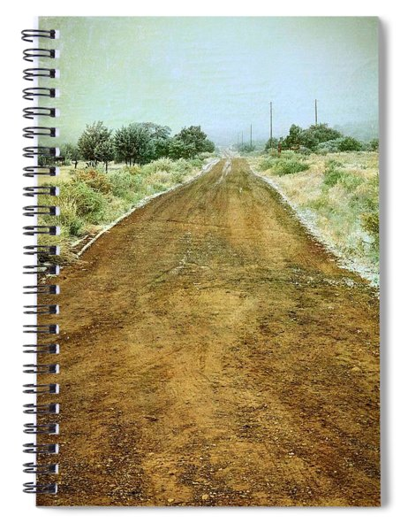 Ode To Country Roads Spiral Notebook