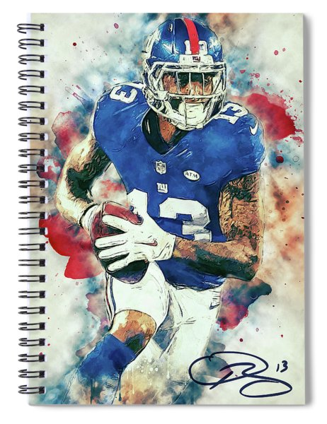 Odell Beckham Jr. Spiral Notebook