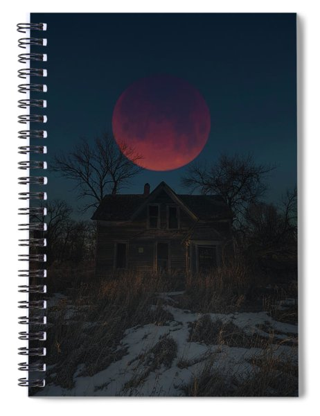 Of Wolf And Man  Spiral Notebook