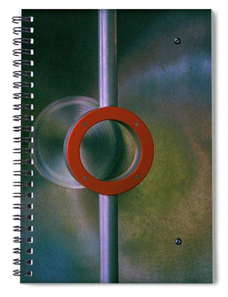 Off Center Spiral Notebook
