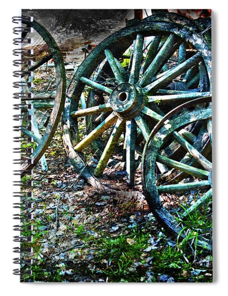 Off The Wagon Spiral Notebook