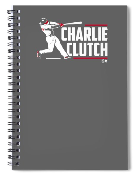 Officially Licensed Charlie Culberson Shirt - Charlie Clutch Spiral Notebook