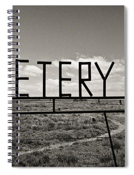 Oh, Bury Me Not Spiral Notebook