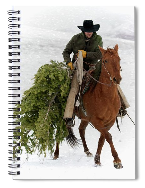 Oh, Christmas Tree Spiral Notebook