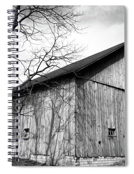 Ohio Barn Spiral Notebook