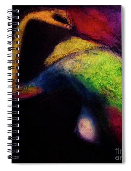 Oil Pastel Sketch Colored Spiral Notebook