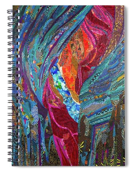 Oju Olurun I Eye Of God I Spiral Notebook