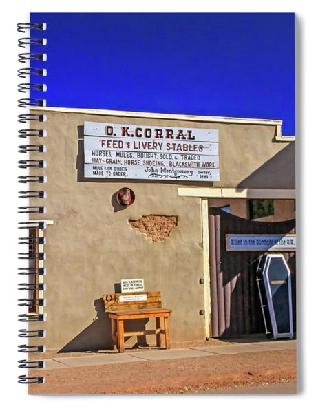 Ok Corral Spiral Notebook