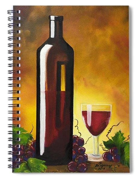 Okanagan Red  Spiral Notebook