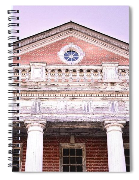 Old Architecture Spiral Notebook by Lisa Wooten