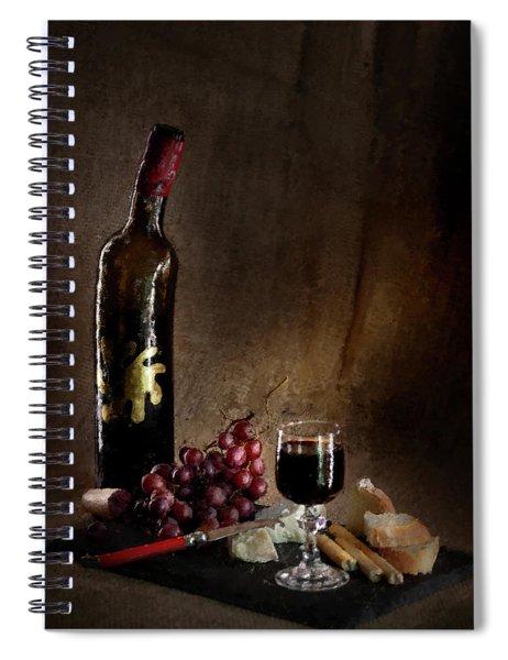 Old Bachelor's Dinner Spiral Notebook