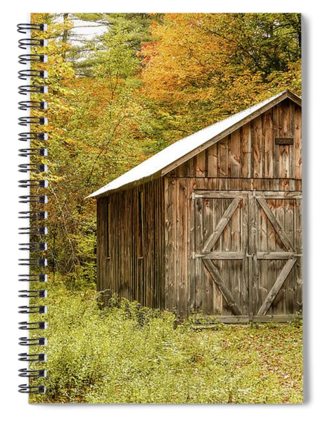 Old Barn New England Spiral Notebook