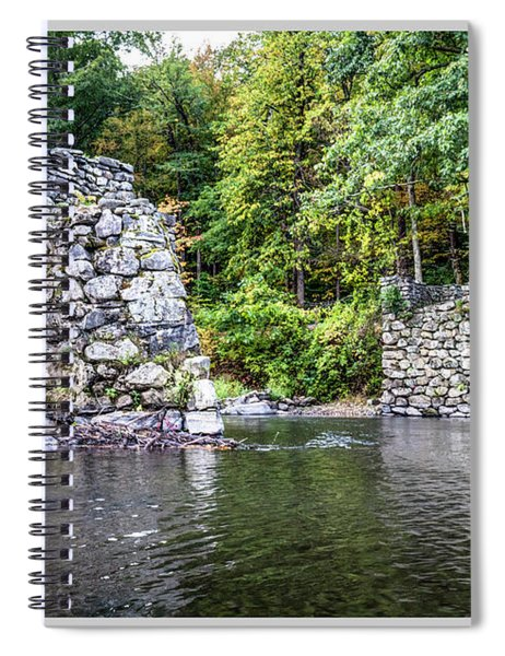 Old Bridge Structure Spiral Notebook