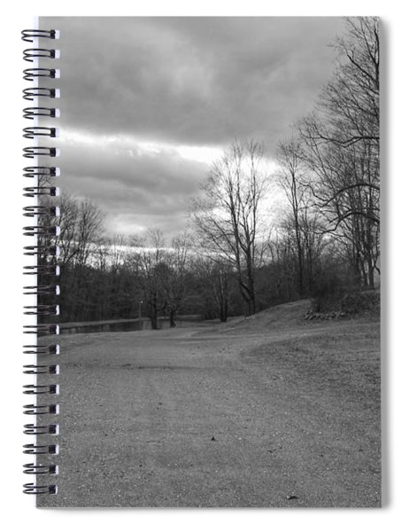 Old Canal Road - Waterloo Village Spiral Notebook