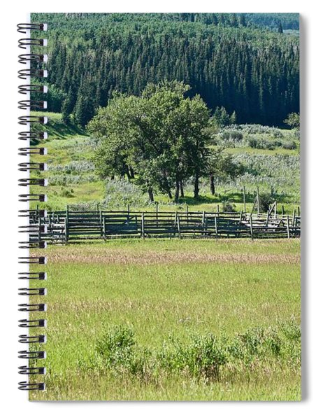 Old Corral Spiral Notebook