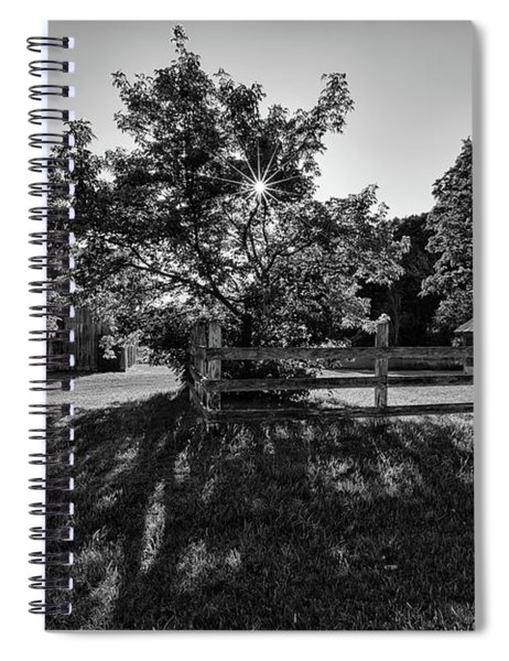 Spiral Notebook featuring the photograph Old Homestead 1 by Heather Kenward