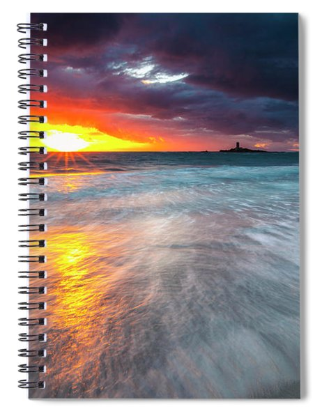 Old Lighthouse Spiral Notebook