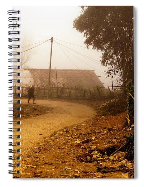 Old Man's Journey - Sapa, Vietnam Spiral Notebook