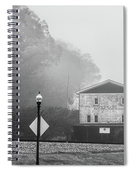 Old Mill By The Tracks Spiral Notebook