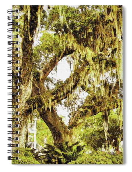 Old Mossy Oaks Spiral Notebook