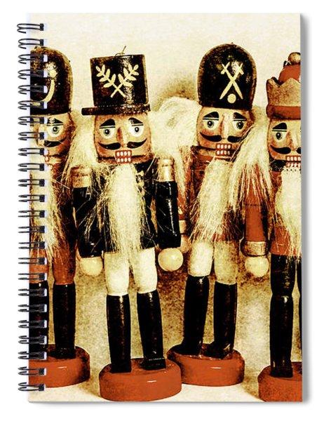 Old Nutcracker Brigade Spiral Notebook