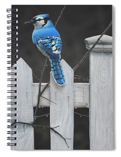Old Picket Fence Spiral Notebook