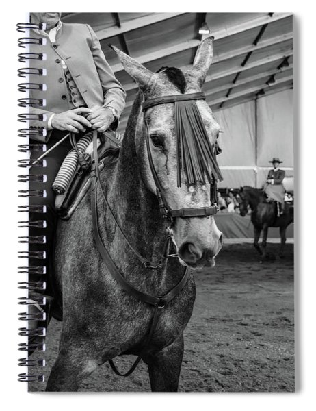 Old Rider Spiral Notebook