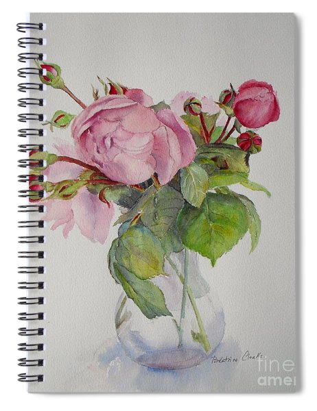 Old Roses Spiral Notebook