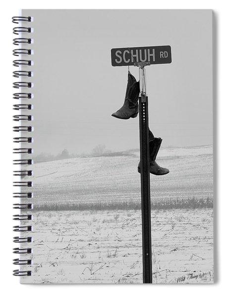 Old Shuh Road Spiral Notebook