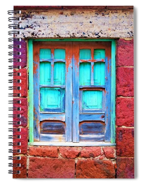 Old Shutters Spiral Notebook