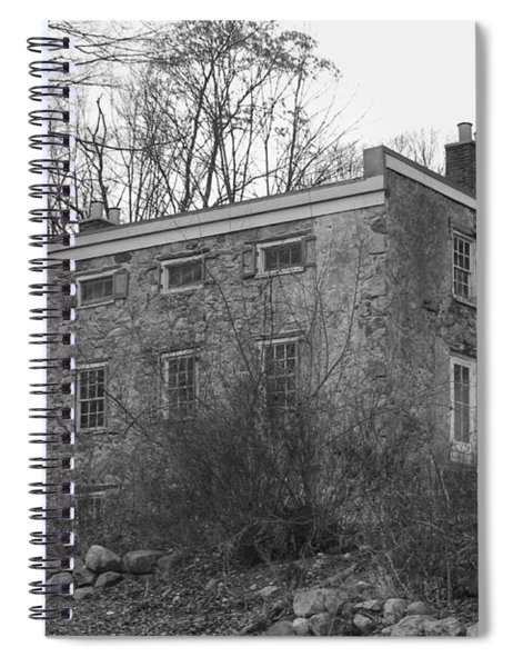 Old Stone House - Waterloo Village Spiral Notebook