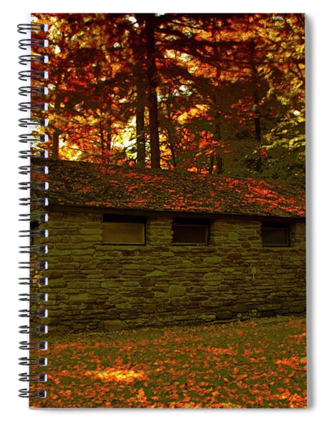Old Stone Structure Spiral Notebook