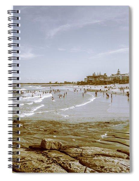 Old Sunshine Coast Bathers Spiral Notebook