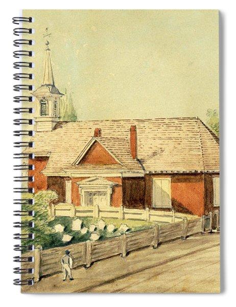 Old Swedes' Church, Southwark, Philadelphia Spiral Notebook