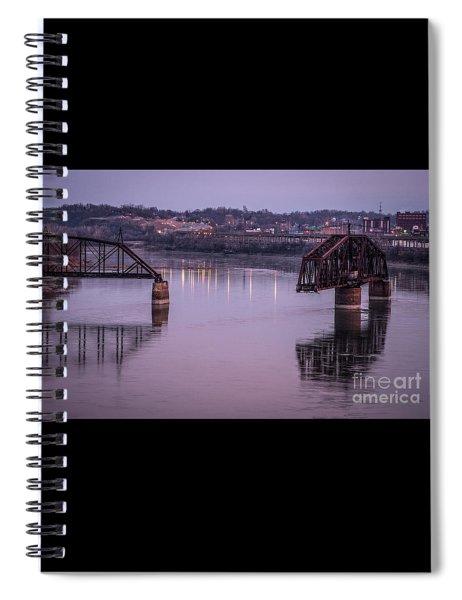 Old Swing Bridge Spiral Notebook
