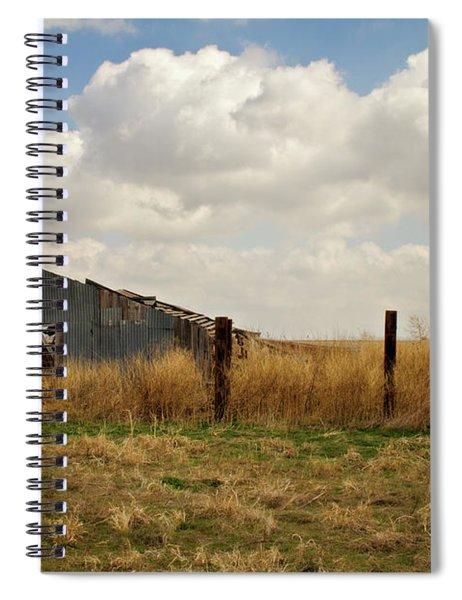 Old Tin Barn Spiral Notebook