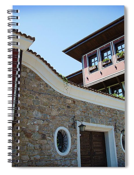 Old Town Plovdiv Spiral Notebook
