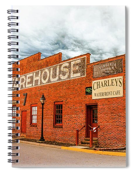 Old Warehouse In Farmville Virginia Spiral Notebook