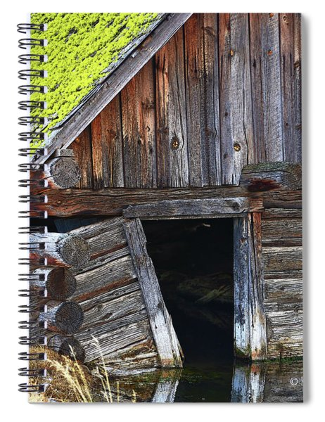 Old Well House #1 Spiral Notebook