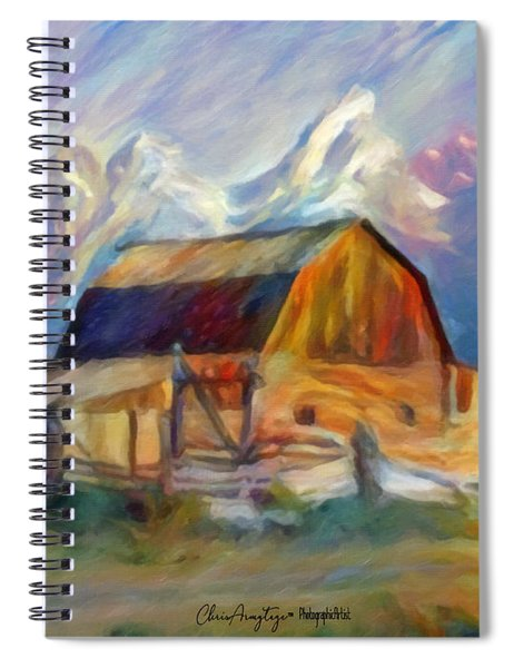 Old Wyoming Barn Spiral Notebook