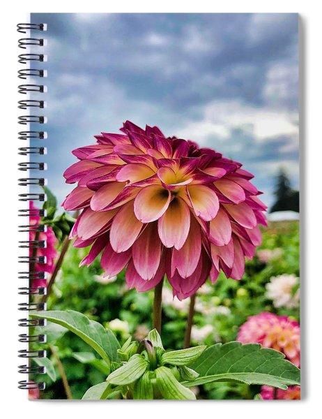 Ominous Sky Spiral Notebook