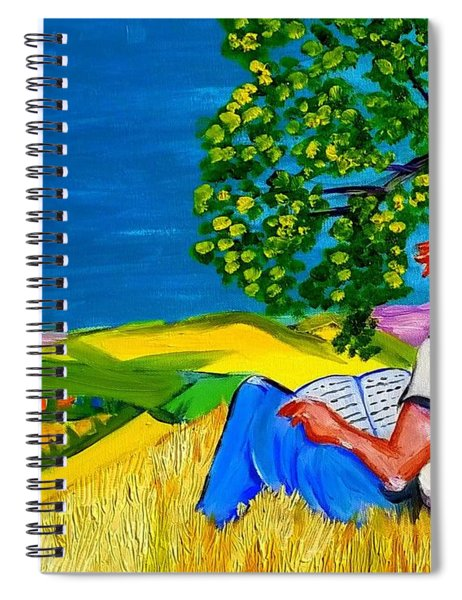 On A Provencal Hill Spiral Notebook