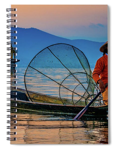 On Inle Lake Spiral Notebook