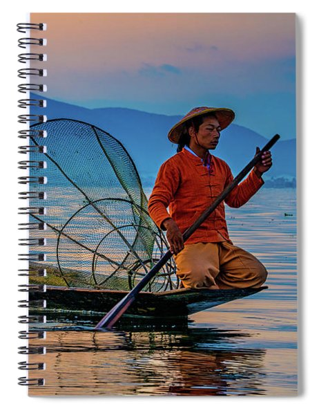 On Inle Lake Spiral Notebook