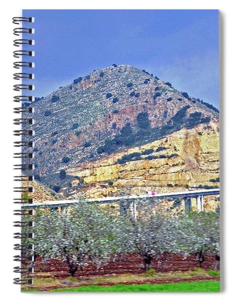 On My Way To Nazareth Spiral Notebook