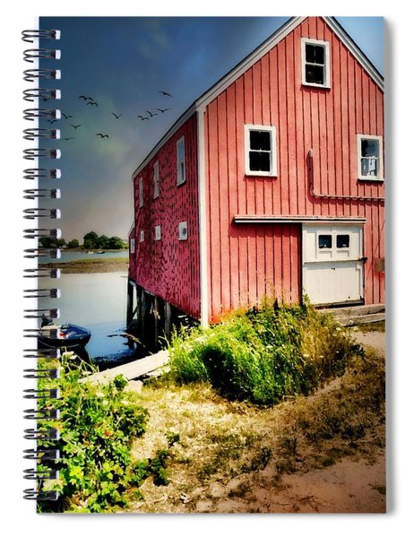 On Porpoise  Spiral Notebook