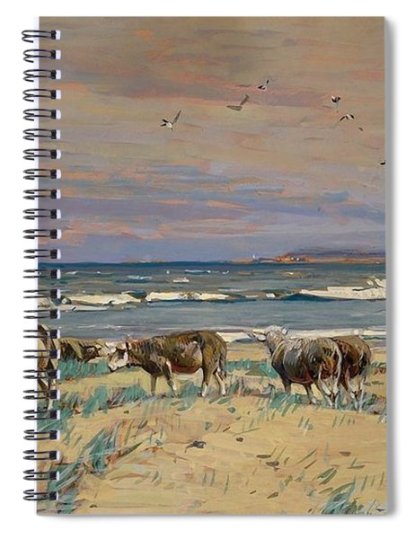 On The Baltic Sea Beach Spiral Notebook