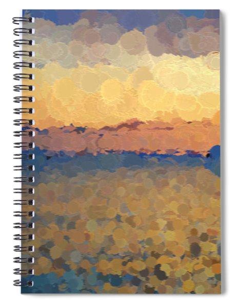 On The Horizon Spiral Notebook